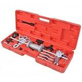 vidaXL Nine Ways Slide Hammer Puller Set 17 pcs Automotive Gear Bearing Drive Hub