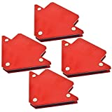 25lb Welding Magnet Arrows Welder Holder Support Durable 4 Pack