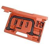 neilsen CT1112 Valve Spring Compressor Kit - Red (7-Piece)