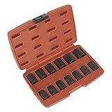 Sealey AK5613M Impact Socket, 1/2-inch Square Drive Metric, Set of 13