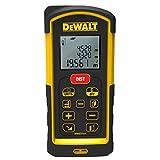 Dewalt DW03101-XJ Laser Distance Measurer, 1.5 V, Black/Yellow, 100 m