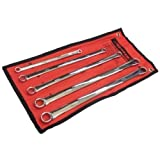 Spanner Set 5pc Extra Long (Ring Spanner - Metric - Fully Polished - Dual End)