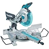 Makita LS1216L/2 Slide Compound Mitre Saw with Laser, 240 V, 305 mm