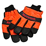 Chainsaw Gloves Both Hand Protection Pro Quality Extra Extra Large XXL Size 12