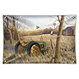 Tractor on the Farm Home Business Office Sign - Vinyl Banner - 22' x 33' (56cm x 84cm)