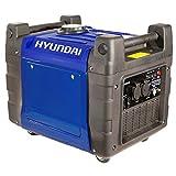 Hyundai 3.4 kW/3400 W Electric and Remote Start Petrol Inverter Generator HY3600SEi