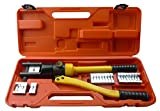 vidaXL Hydraulic Crimper Cable 10-300mm Electric Wire & Crimping Tool 10mm To 300mm