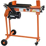 Forest Master heavy duty 7 Ton Electric Log Splitter 3hp timber axe wood cutter stand and duoblade