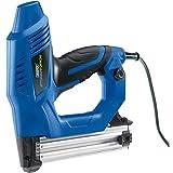 Draper STNEKHDSF Heavy-Duty Electric Stapler Nailer Kit, 230 V, Blue