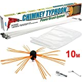 Chimney Typhoon Power Sweeping Set S4U (10 Metre)
