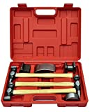 vidaXL Auto Body Panel Repair Tool Kit 7 Piece pcs Car Fender Panel Beating Set