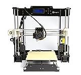 MZEDE High Performance Anet A8 RepRap 3D Printer DIY Kit, Classic A8 RepRap 3D Printer, Desktop 3D Printer, Print PLA, ABS Filament, Easy To Assemble,UK Standard Plug.