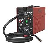 Sealey MIGHTYMIG90 90 A Professional No-Gas Mig Welder, 240 V, Red