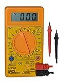 ULTRICSÂ LCD Digital Voltmeter Ammeter OHM Multimeter - Digital LCD Multimeter with Test Leads