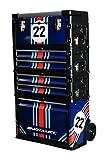 Motamec Modular Tool Box Trolley Mobile Cart Cabinet Chest C41H Martini Racing