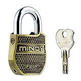 Mindy Heavy Duty Padlock with Keys Fashion Look Security lock, A8-50
