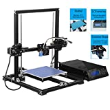 High Precision 3D Printer Auto-Leveling prusa i3 Full Metal Aluminium Structure 3D Printer Kit Self-assembly DIY 3D Machine with MK3 Heatbed LCD Display, Max Printing size 220x220x300mm