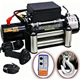 DMS 12-volt electric cable winch 5900kg, motor winch, off-road with wireless remote control ESW 03