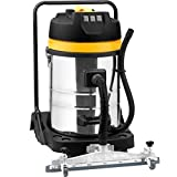 Syntrox Germany industrial vacuum cleaner wet and dry cleaner 3900 Watts 80 Liter with suction mobile