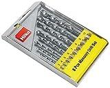 Hilka 49808008 Masonry Drill Bit Set