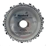 Chainsaw blade, 115 mm x 22 mm for angle grinders and woodworking