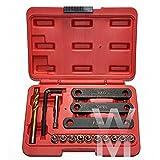 UK Brake Caliper Guide Thread Repair Kit VAG VW Vauxhall Ford Seat Tool Kit