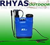 Rhyas 20 Litre Garden Backpack Sprayer Back Pack 20L Knapsack Weedkiller