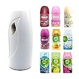 Airpure Automatic Air Freshener Machine with 2 Refills (Airpure Linen)