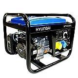 Hyundai 2.8 kW Open Frame Portable Petrol Generator HY3100L
