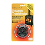 STOVAX STOVE FLUE PIPE THERMOMETER TEMPERATURE GAUGE NEW MODEL by DeBrett Fires