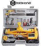 ZA ZAISHANG - 12V Electric Car Scissor Jack 2 Tonne 12.5 - 42 cm + Crank