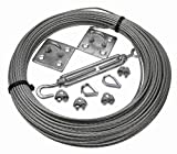 More Than Just Ropes 4mm Galvanised Steel Catenary Wire Kit (03269587545) - 5