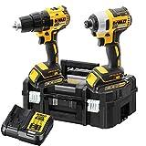 DeWalt DCK2059D2T-GB 18V 2 x 2Ah Brushless XR Li-Ion Combi & Impact Drill