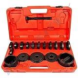 24 Pc Wheel Bearing Pullers Tools Kit Hub Installation VW/Audi / Vauxhall/ FIAT/ Mercedes Benz /BMW / Toyota/Ford/Peugeot/ Citroen/Renault/ Honda/ Mazda/MITSUBISHI/Nissan/Austin-Martin craaw-15
