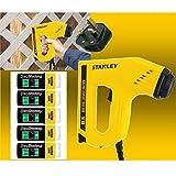 Stanley Electric Staple Nail Gun Stapler Nailer Tacker 0-TRE550 + 5000 Assorted Staples
