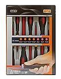 Bahco 9888S BE-9888s VDE Ergo Slot/Pozi Screwdriver Set (7 Pieces)