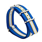 Gemony Nato Strap Premium Ballisitcs Nylon Watch Band NBA fan strap Available 18mm/20mm/22mm