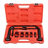 FDS 10PCS Car Motorcycle Valve Clamps Spring Compressor Pusher Automotive Tool Set 16-30mm