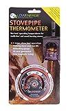 Lowenergie Stove Flue Pipe Thermometer Temperature Gauge Log Burner