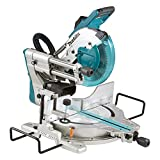 Makita LS1019/1 Slide Compound Mitre Saw, 1510 W, 110 V, Blue, 260 mm