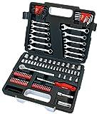Draper Redline 68504 1/4 - 3/8-Inch Square Mechanics Tool Kit (107-Piece)