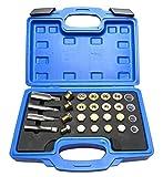 Mekanik 64 Oil Pan Thread Repair Kit Sump Gearbox Drain Plug Tool Set M13 M15 M17 M20