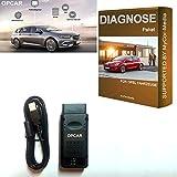 MyCor-Media OPEL Opcar Interface Diagnostic Tool for Astra Cascada Corsa Insignia GTC Zafira