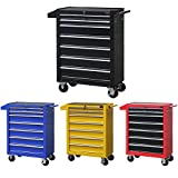 Dirty Pro Tools Mobile Roller Tool Chest Trolley Storage Cart Tool Box Toolbox On Wheels.