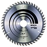 Bosch 2608640617 OPWOH 'Top Precision' Circular Saw Blade with 48 Teeth, 0 V, Silver, 190 x 30 mm