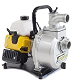 WASPPER PC114  Heavy-Duty & Portable Water Pump with 14000 l/hr Flow Rate, 30m Water Lift, 10000 RPM Petrol Engine and Included Accessories