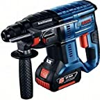 Bosch GBH18V-20 18v Sds Hammer Drill 1 x 5.0ah Battery Charger + Case