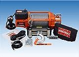 ELECTRIC WINCH 12V RECOVERY 4x4 17500 lb WINCHMAX BRAND WIRELESS REMOTE