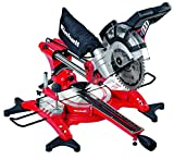 Einhell TC-SM 2131 240 V Double Bevel Crosscut Mitre Saw with Laser - Red