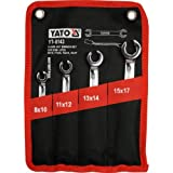Yato YT-0143 Two Flat Spanners, 8–17mm Holes